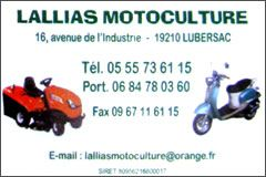 Lallias Motoculture
